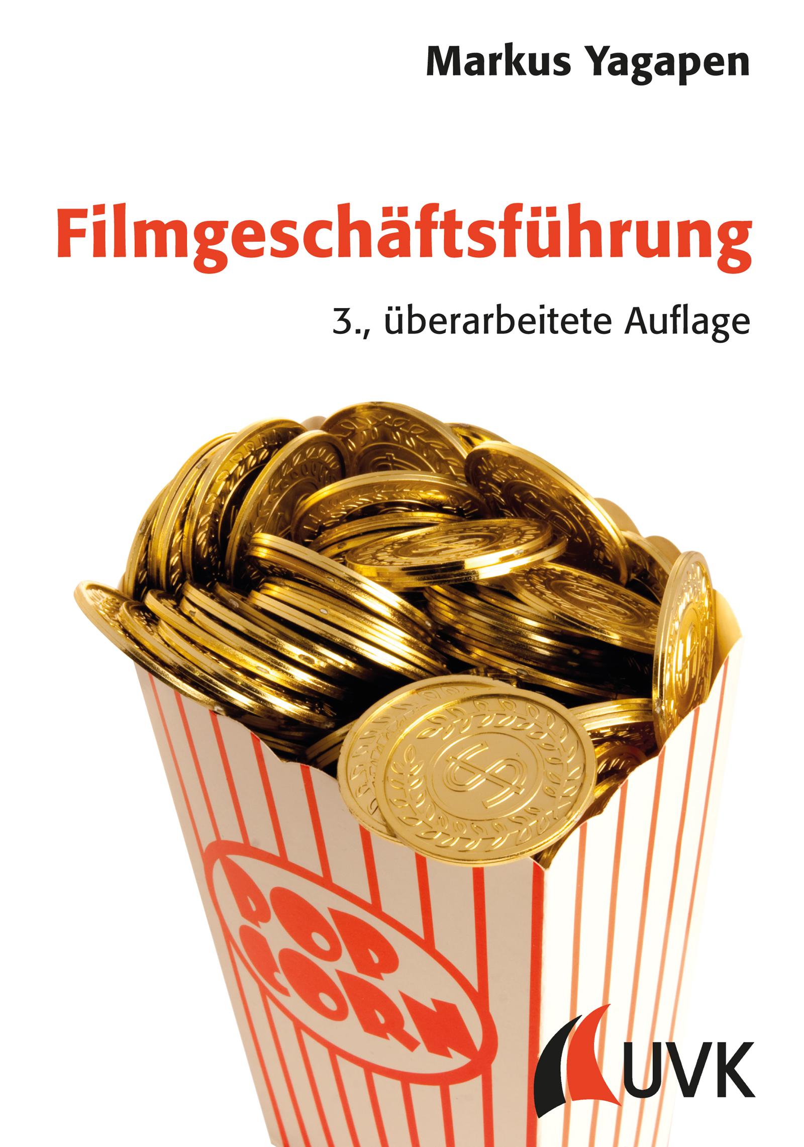 Buch Filmgeschäftsführung von Markus Yagapen